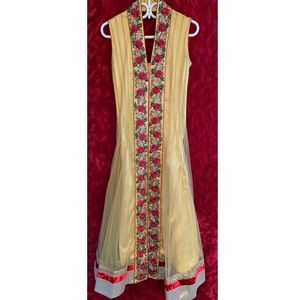 Net Anarkali Indian Suit